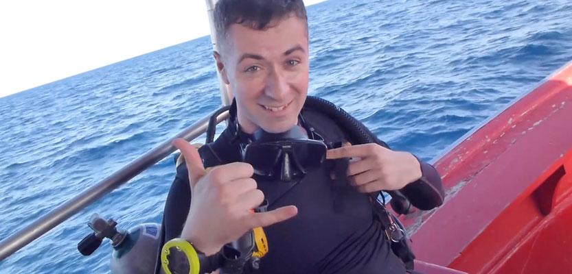 Spass auf dem Boot