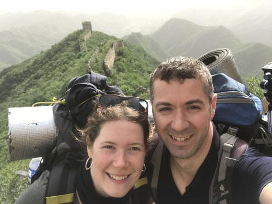 Trekking auf der Chinesischen Mauer