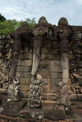 Elefantenterrasse Angkor Thom