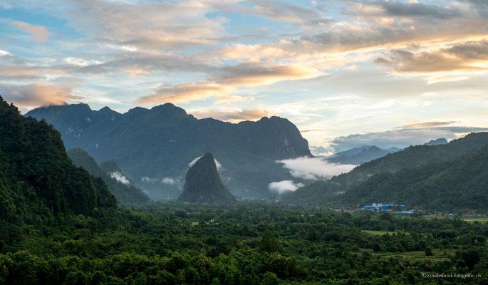 Sonnenaufgang Vang Vieng