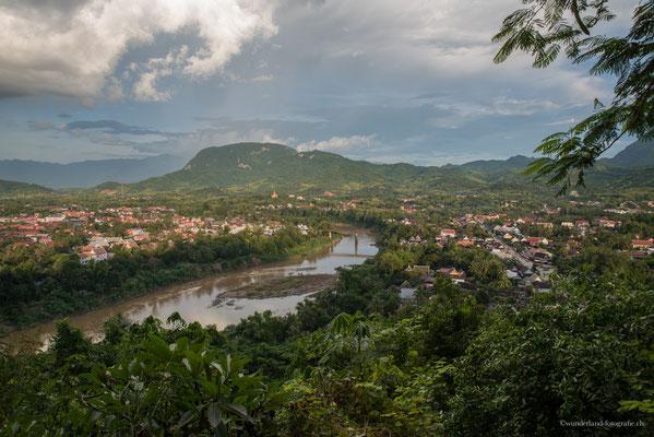 Aussicht auf Luang Prabang (Phu Si)