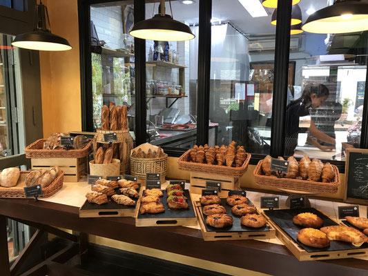 Da Laos lange eine französische Kolonie war, gibt es überall Bäckereien mit leckerem Brot und Gebäck.