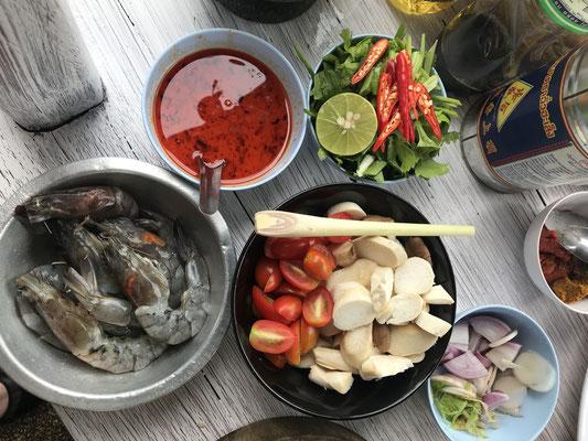 Zutaten für die Suppe