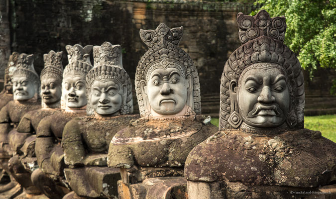 Eingang zu Angkor Thom
