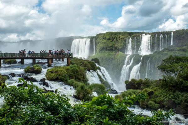 Wasserfälle von Iguazú (Brasilianische Seite)