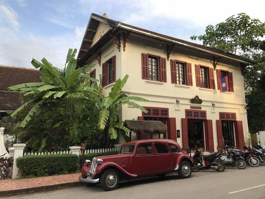 Viele Gebäude stammen noch aus der Kolonialzeit...