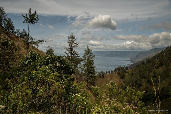 Blick auf den Lake Toba