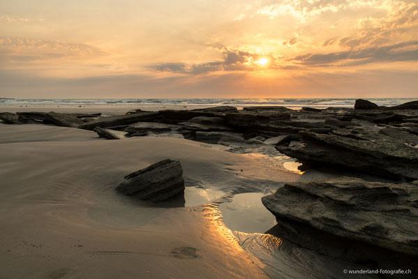 Sonnenuntergang am berühmten Cable Beach in Broome