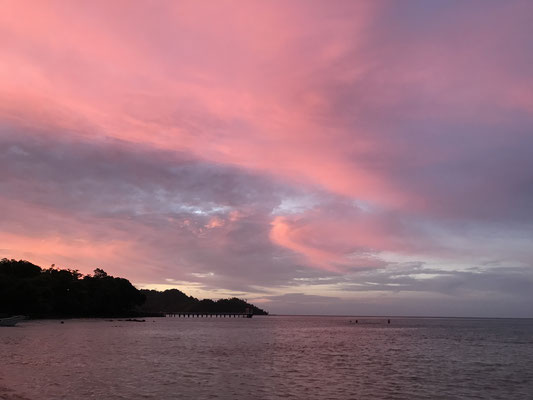 Sonnenuntergang in Gapang, Pulau Weh