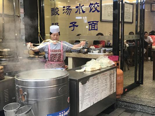 Nachtmarkt in Xi'an