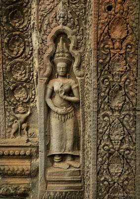 Wandbild Ta Phrom