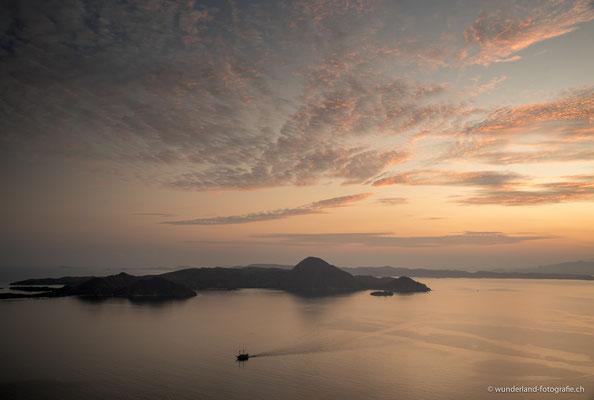 Sicht von Padar Island