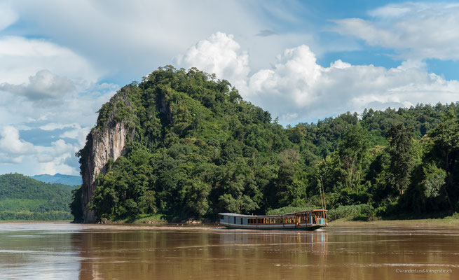 Mekong zwischen Pakbeng und Luang Prabang