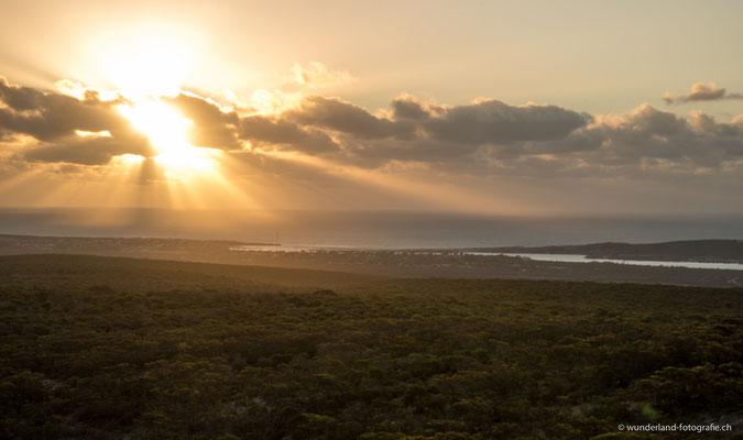 Sonnenuntergang über Kalbarri