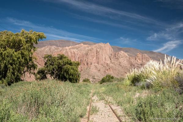 Zugstrecke vom Tren a las Nubes