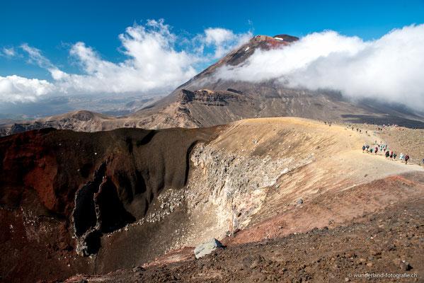 Mt. Ngauruhoe, Tongariro Alpine Crossing oder Mordor aus Herr der Ringe
