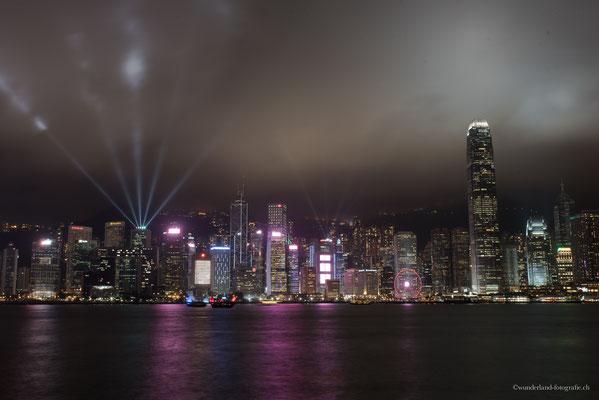 Lasershow in Hongkong