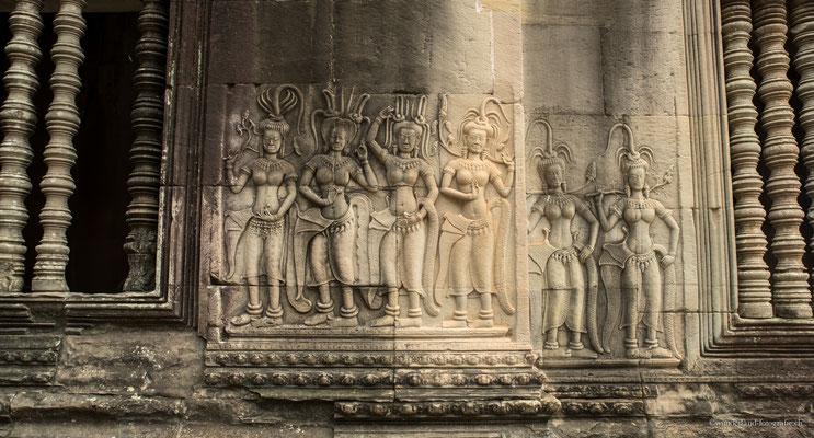 Wandbilder Angkor Wat