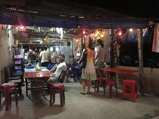 Uriges Restaurant auf Koh Tao