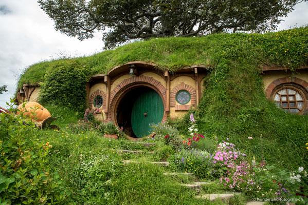 Bilbo Beutlins Haus, Hobbiton Filmset