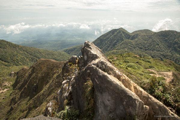 Aussicht vom Mt. Sibayak