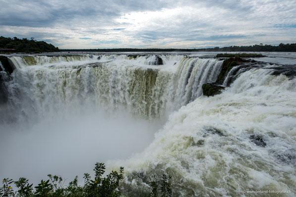 Garganta del Diabolo - Wasserfälle von Iguazú (Argentinische Seite)