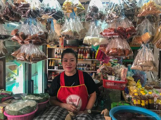 Marktverkäuferin Vientiane