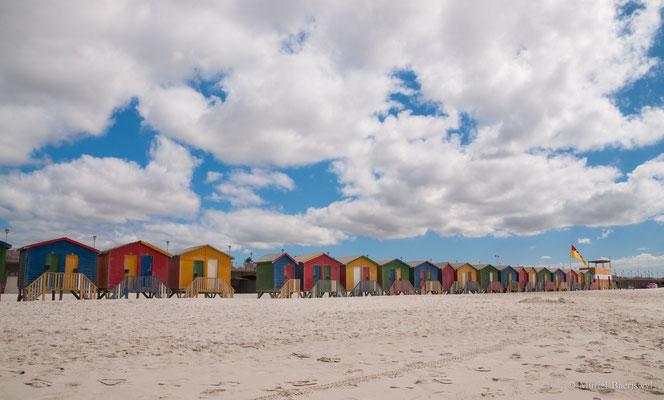 Muizenberg Strand in Südafrika