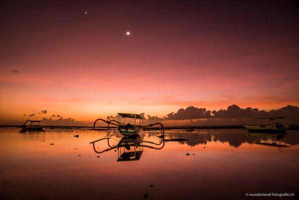 Sonnenuntergang auf Nusa Lembongan