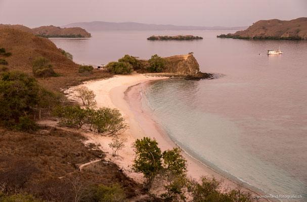 Pink Beach im Komodonationalpark