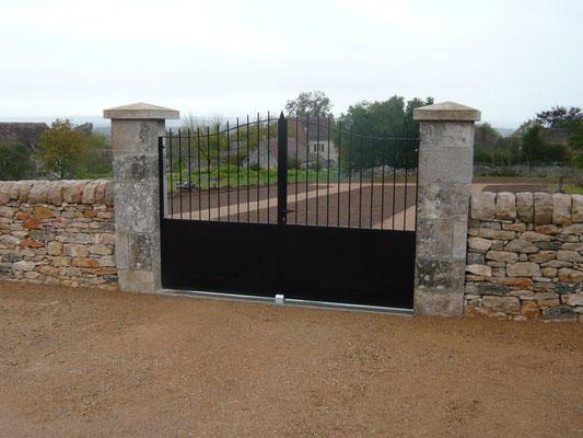 22 octobre : portail d'entrée