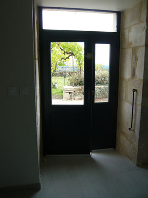 L'entrée de la maison