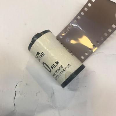 Film wurde nass