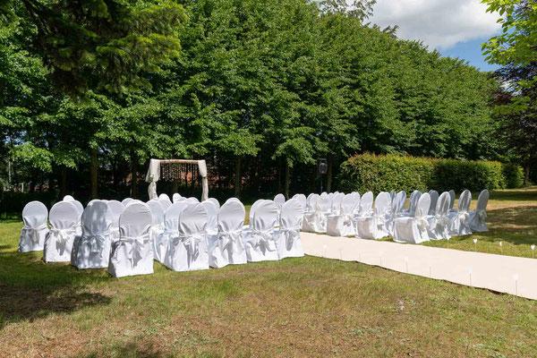 Freie Trauung im Hochdorfer Garten in Tating