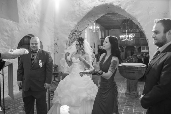 Als Hochzeitsfotograf in Süderstapel, Kirchliche Trauung in der St. Katharienenkirche
