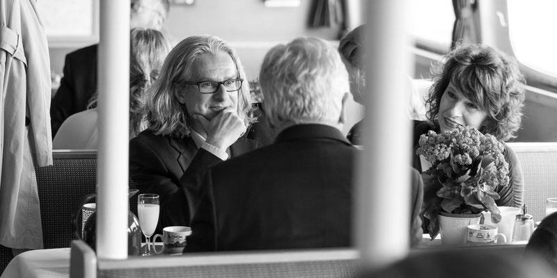 Fotograf Tönning - Mit der Adler II auf die Eider