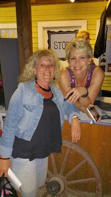 Claudia Jung & Petra Wiedemann aus Augsburg - Open Air 30 Jahre Claudia Jung - Dasing - Western City - 06.06.2015