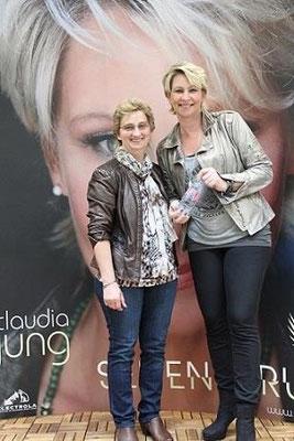 """Claudia Jung & Elisabeth Fuchs aus Wörth - Promo Tour """"Seitensprung"""" in Kulmbach - März 2015"""