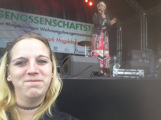 Claudia Jung & Amanda Nadine Müller aus Magdeburg - Tag der Genossenschaften - Magdeburg - 21.06.2015