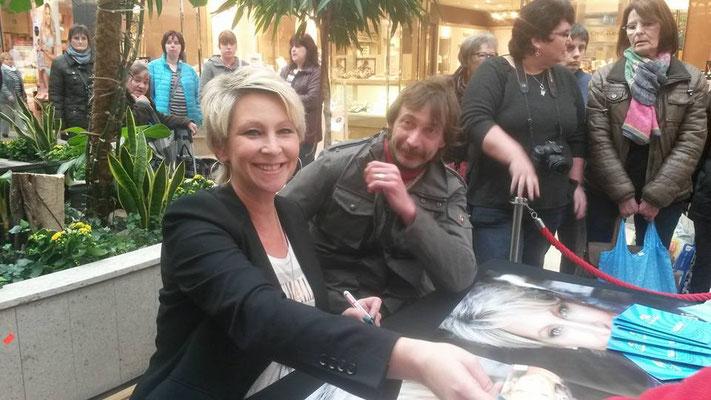 "Claudia Jung & Jörg Speedy aus Duisburg -  März 2015 - Promo Tour ""Seitensprung"" - Essen"