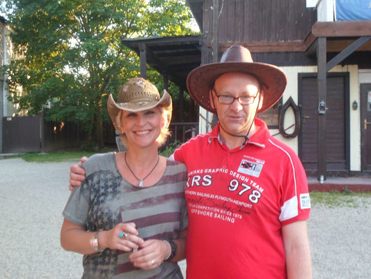 Claudia Jung & Campie aus Lübeck - Rangerabend Dasing - 05.06.2015