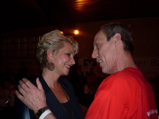 Claudia Jung & Helmut Bronheim aus Menden - 12.04.2014 - Menden - Halbe Hundert - Claudia Jung