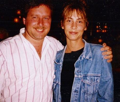 Jürgen Lais & Claudia Jung - 1986 - Mallorca - Rio Palace Mallorca in der Royal Suite