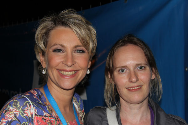Claudia Jung & Yvonne Klawon aus Espenau - Hessentag Kassel im hr-treff - Schlagerparty - Juni 2013