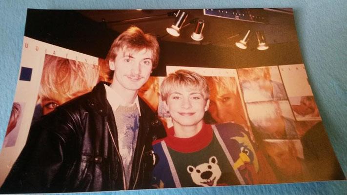 Claudia Jung & Jörg Speedy aus Duisburg -  Autogrammstunde 1994