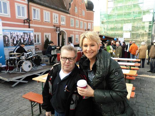 Claudia Jung & Dieter Bossert aus Geisenfeld