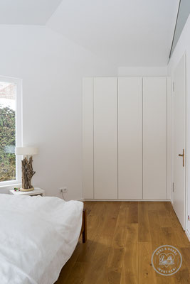 Kleiderschrank | MDF Lack | Herz & Hobel | Schreinerei München