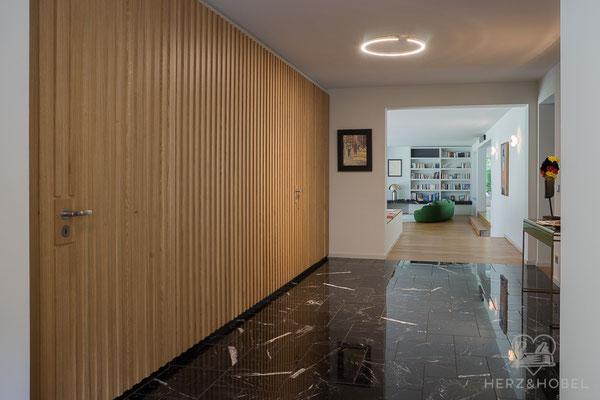 Eingangsbereich | Garderobe | Herz & Hobel | Schreinerei München