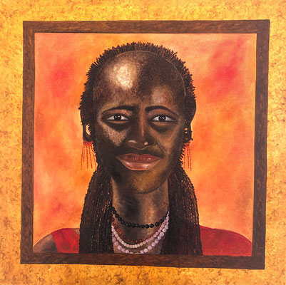 "<span id=""titcol"">Massai <span/><span id=""bezcol"">Ol</br>100 x 100 cm<span/>"