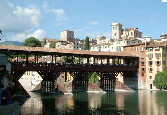 Bassano del Grappa, del Palladio - Ponte degli Alpini - km 15